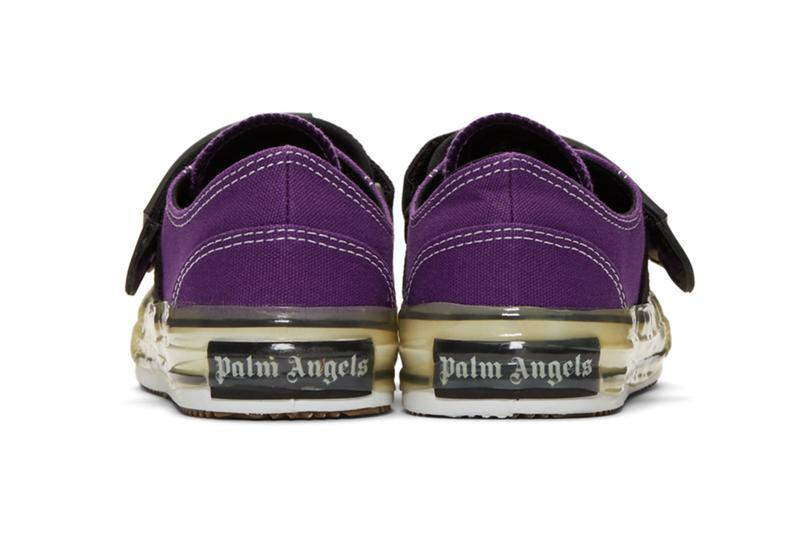 Palm Angels Velcro Sneaker Black White