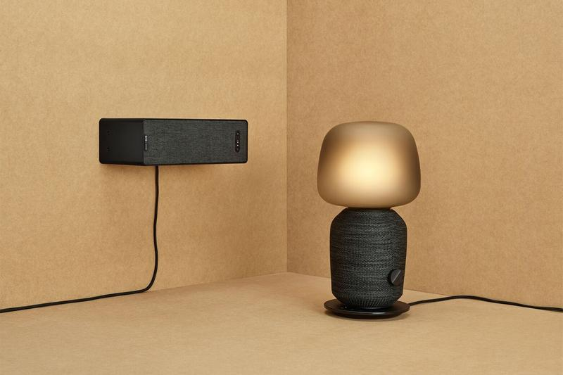 IKEA Reveals Exclusive Collaboration with Sonos Speaker Shelf Lamp Audio Music Technology Collection Tech