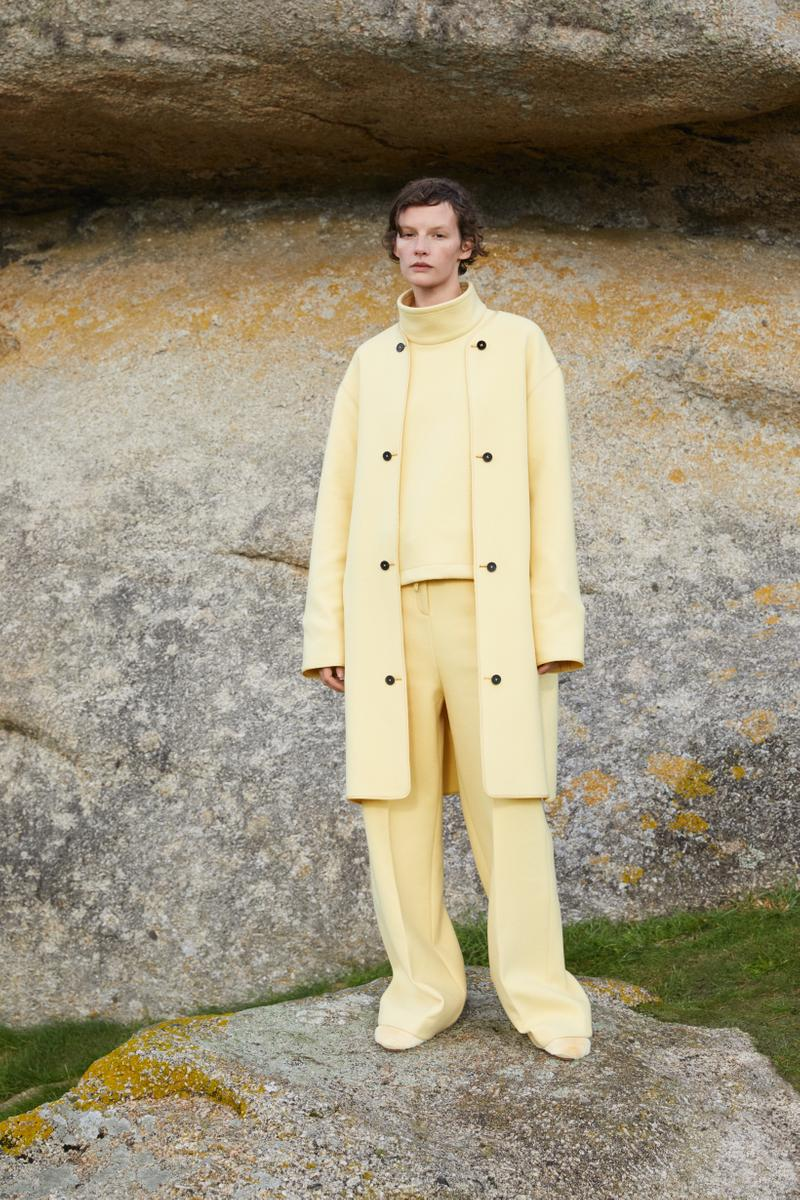 Jil Sander Plus Fall Winter 2019 Collection Jacket Pants Yellow