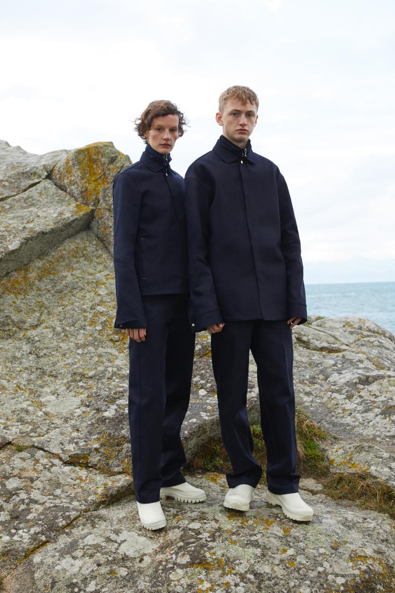 Jil Sander Plus Fall Winter 2019 Collection Shirt Pants Navy Blue