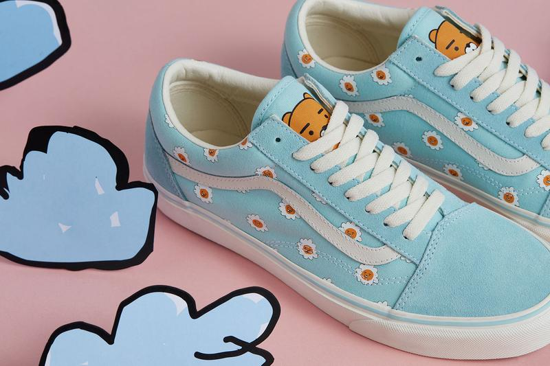 Kakao Friends x Vans Capsule Collection Old Skool Blue White
