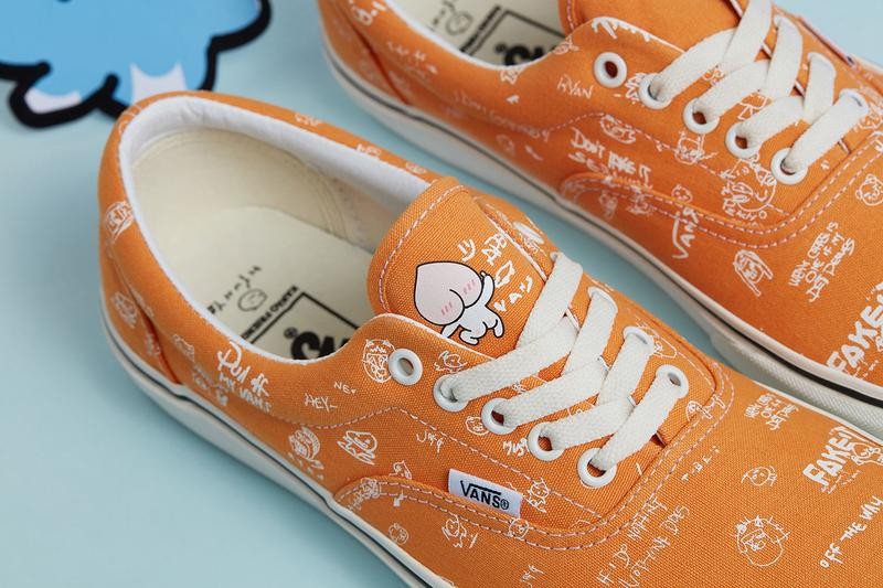 Kakao Friends x Vans Capsule Collection Era Orange White