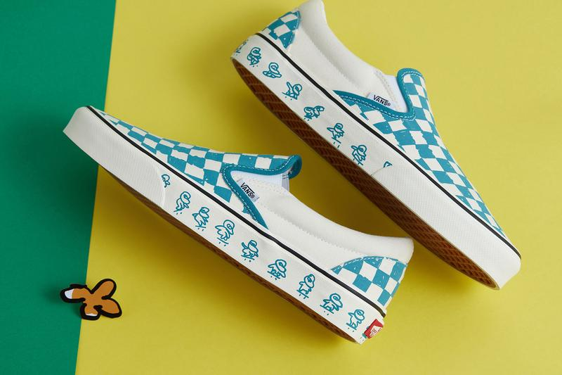 Kakao Friends x Vans Capsule Collection Slip On Blue White