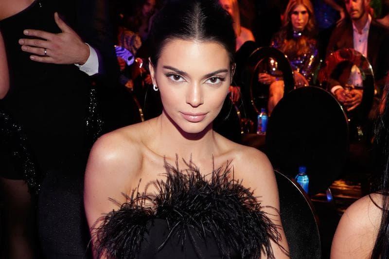 Kendall Jenner Black Dress