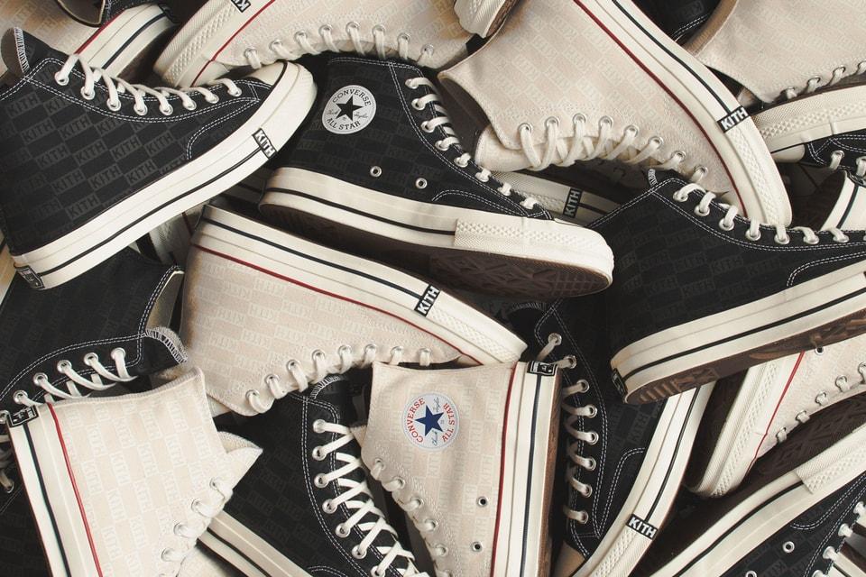 a22a1d29978 KITH x Converse Chuck Taylor All Star Black | HYPEBAE