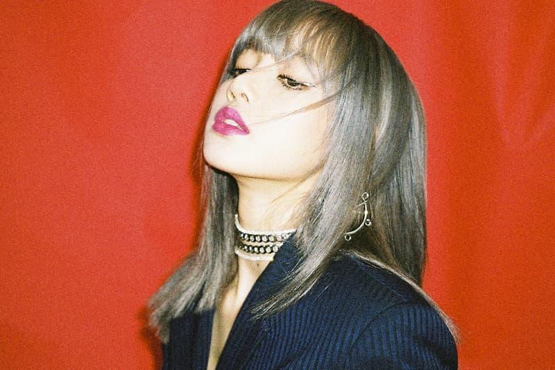 BLACKPINK Lisa Kill This Love Music Video K-Pop Silver Grey Gray Hair
