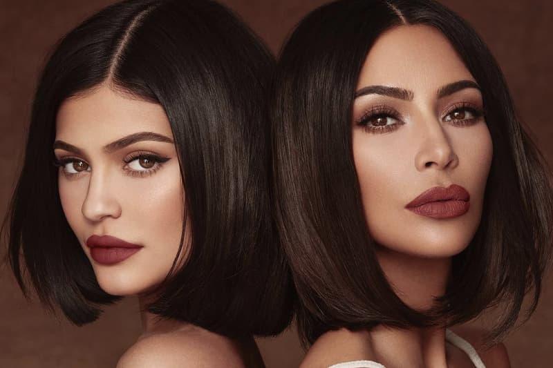 Kim Kardashian Kylie Jenner Cosmetics KKW Lipstick Collaboration Brown