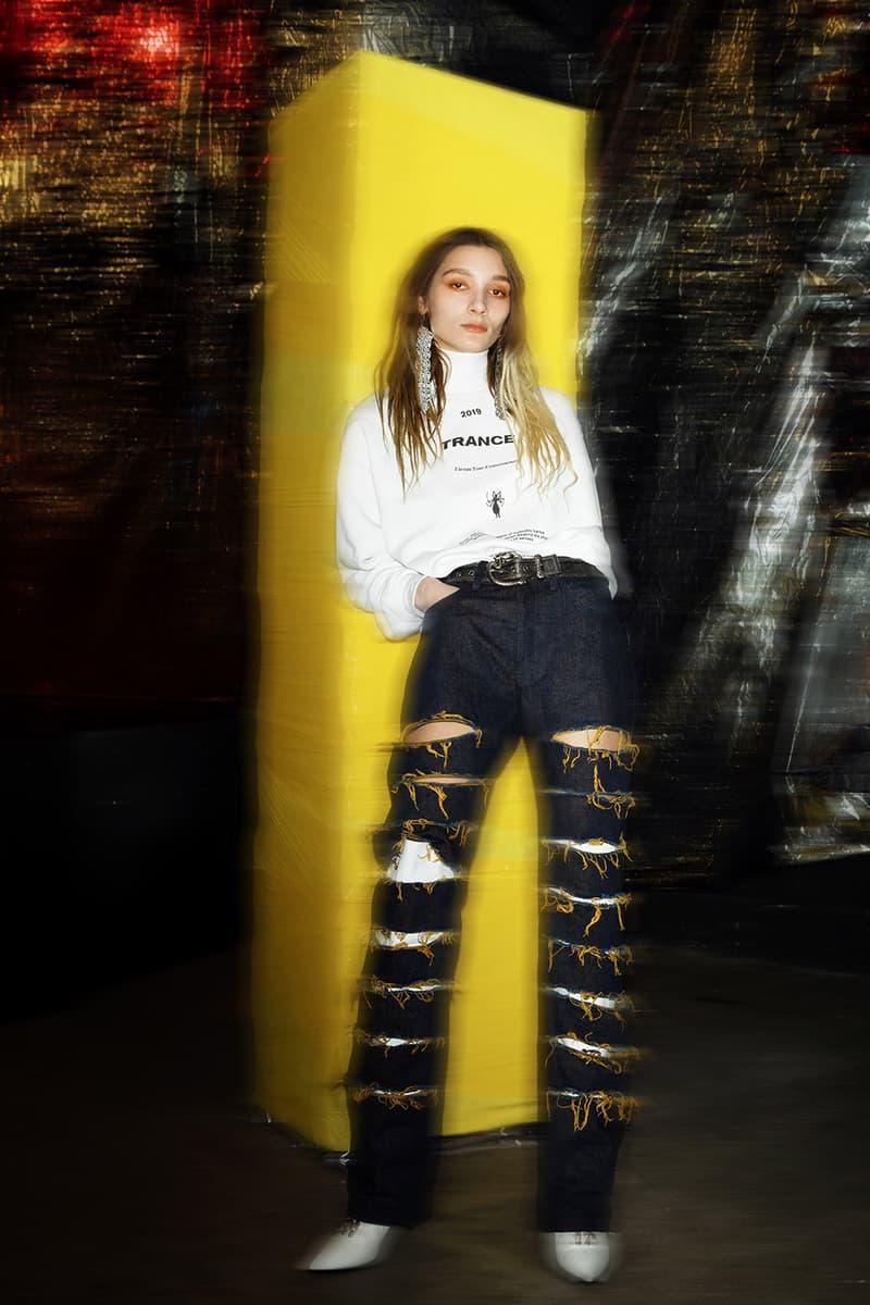 LEO Belgian Fashion Brand Interview PFW Paris Fashion Week Trance FW19  Leonneke Derksen Joëlle Laederach Matthias Medaer