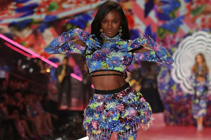 Leomie Anderson Victoria's Secret Angel Runway Show British Model