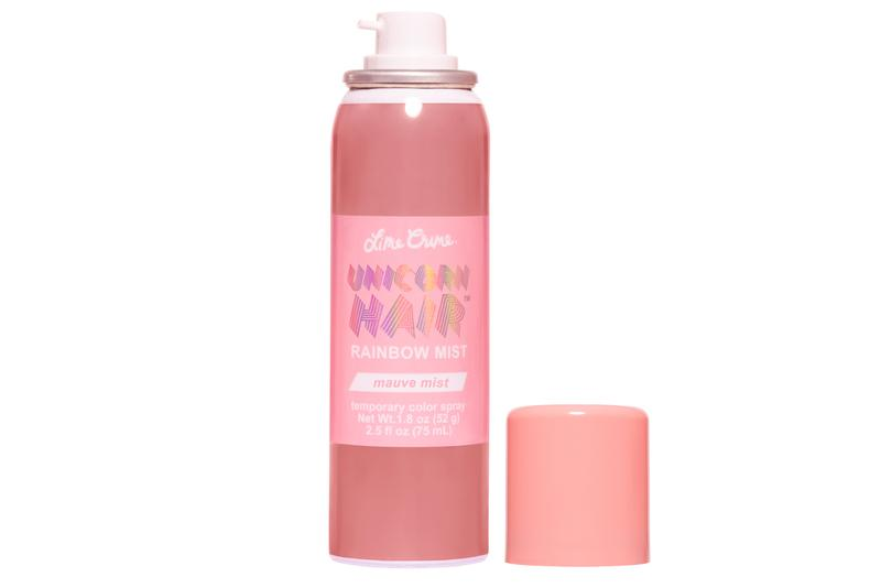 Lime Crime Unicorn Hair Rainbow Temporary Color Pink Red Festival Ombre
