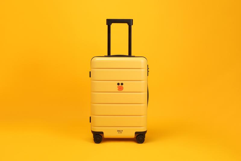 LINE FRIENDS x Xiaomi Sally Suitcase Yellow Black