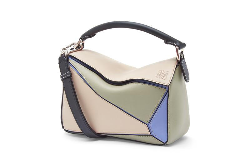 Loewe Paula Ibiza Summer 2019 Collection Puzzle Bag Cream Green