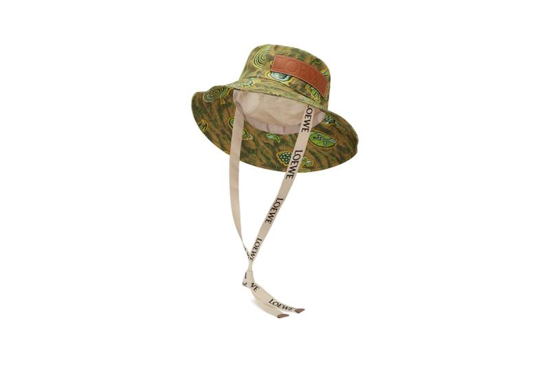 Loewe Paula Ibiza Summer 2019 Collection Hat Green