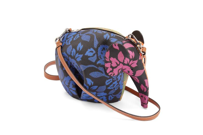 Loewe Paula Ibiza Summer 2019 Collection Elephant Bag Blue