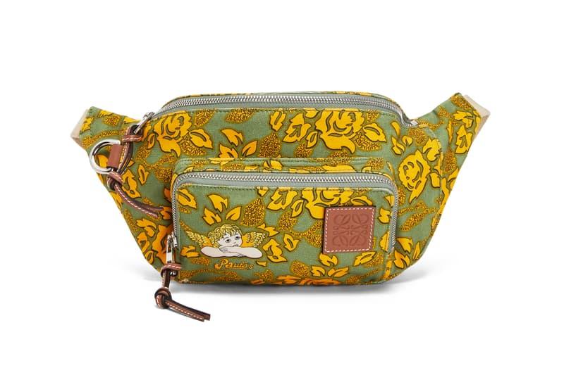 Loewe Paula Ibiza Summer 2019 Collection Bum Bag Green Yellow