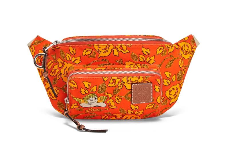 Loewe Paula Ibiza Summer 2019 Collection Bum Bag Orange Yellow