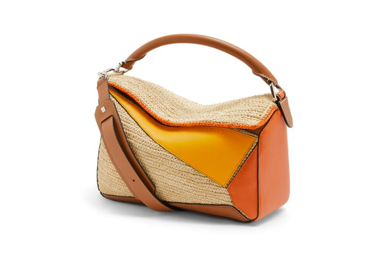 Loewe Paula Ibiza Summer 2019 Collection Puzzle Bag Cream Orange Red
