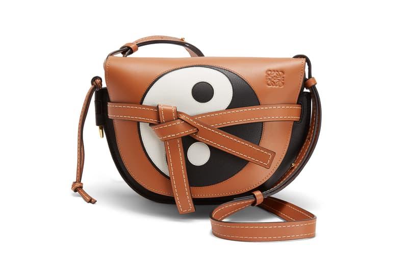 Loewe Paula Ibiza Summer 2019 Collection Mini Grain Leather Bag Brown Black White