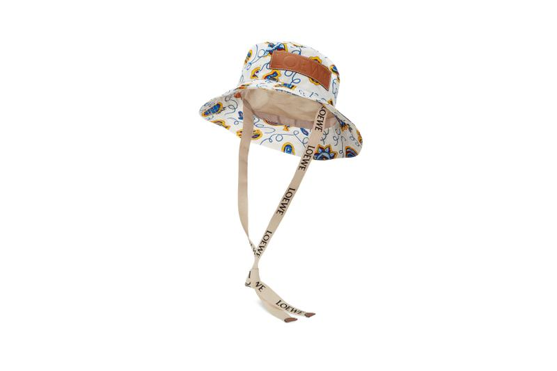 Loewe Paula Ibiza Summer 2019 Collection Hat White Brown