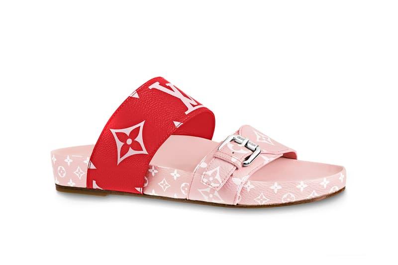 f18ab300d42c Louis Vuitton Releases Bom Dia Sandal in Pink