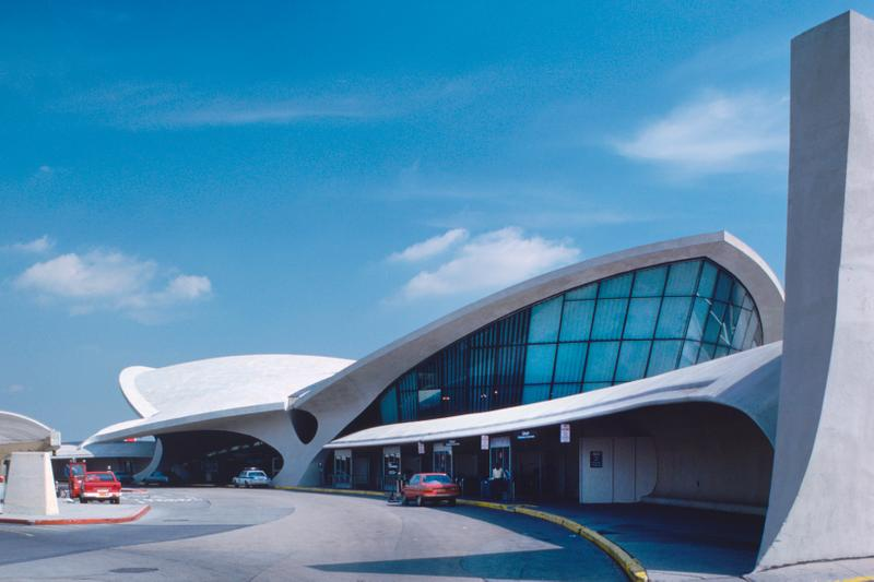 JFK TWA Flight Center Silver White