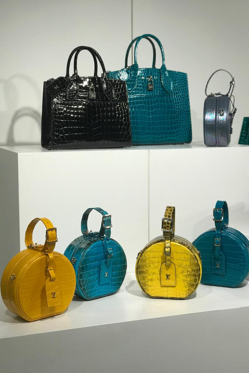 Louis Vuitton Fall Winter 2019 Closer Look Handbags Teal Black Yellow