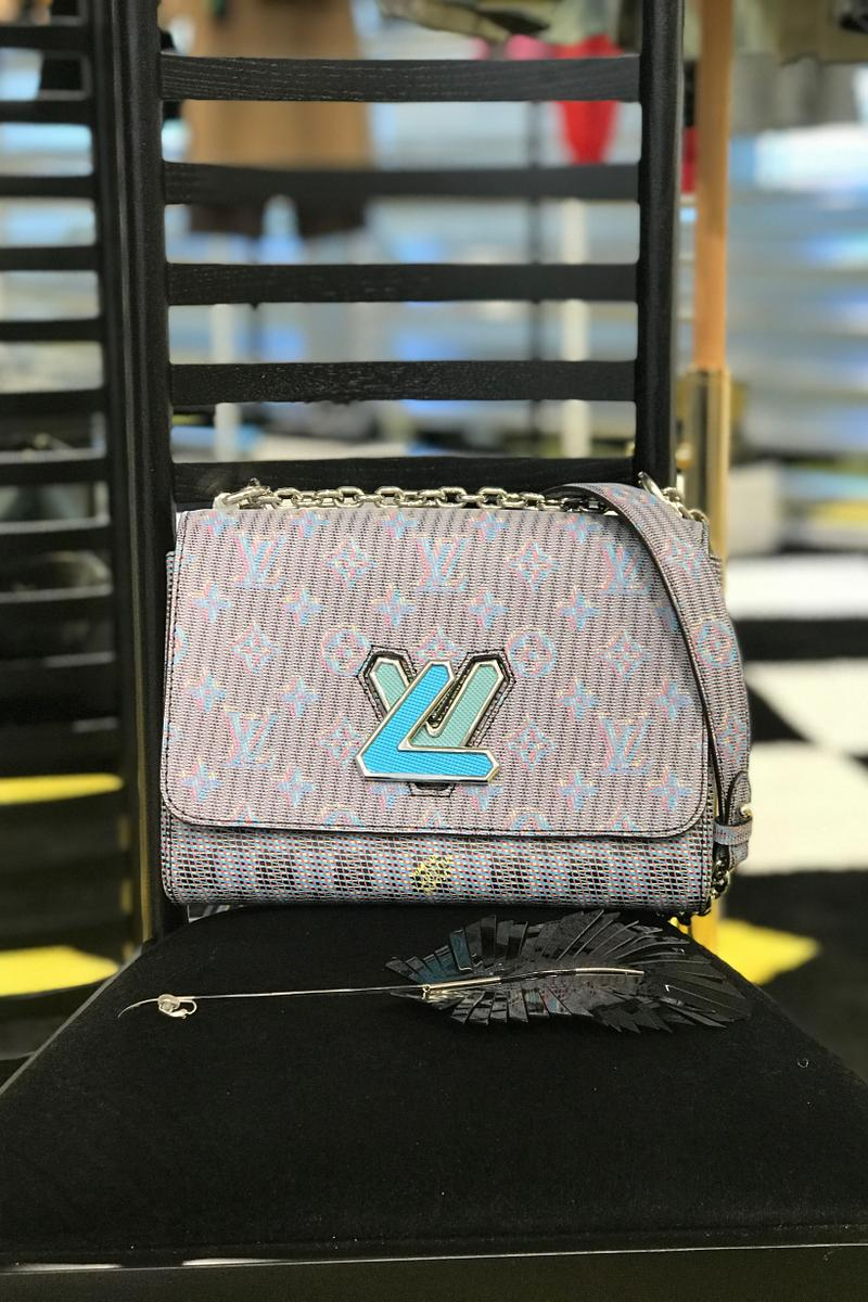 Louis Vuitton Fall Winter 2019 Closer Look Handbag Teal Blue White