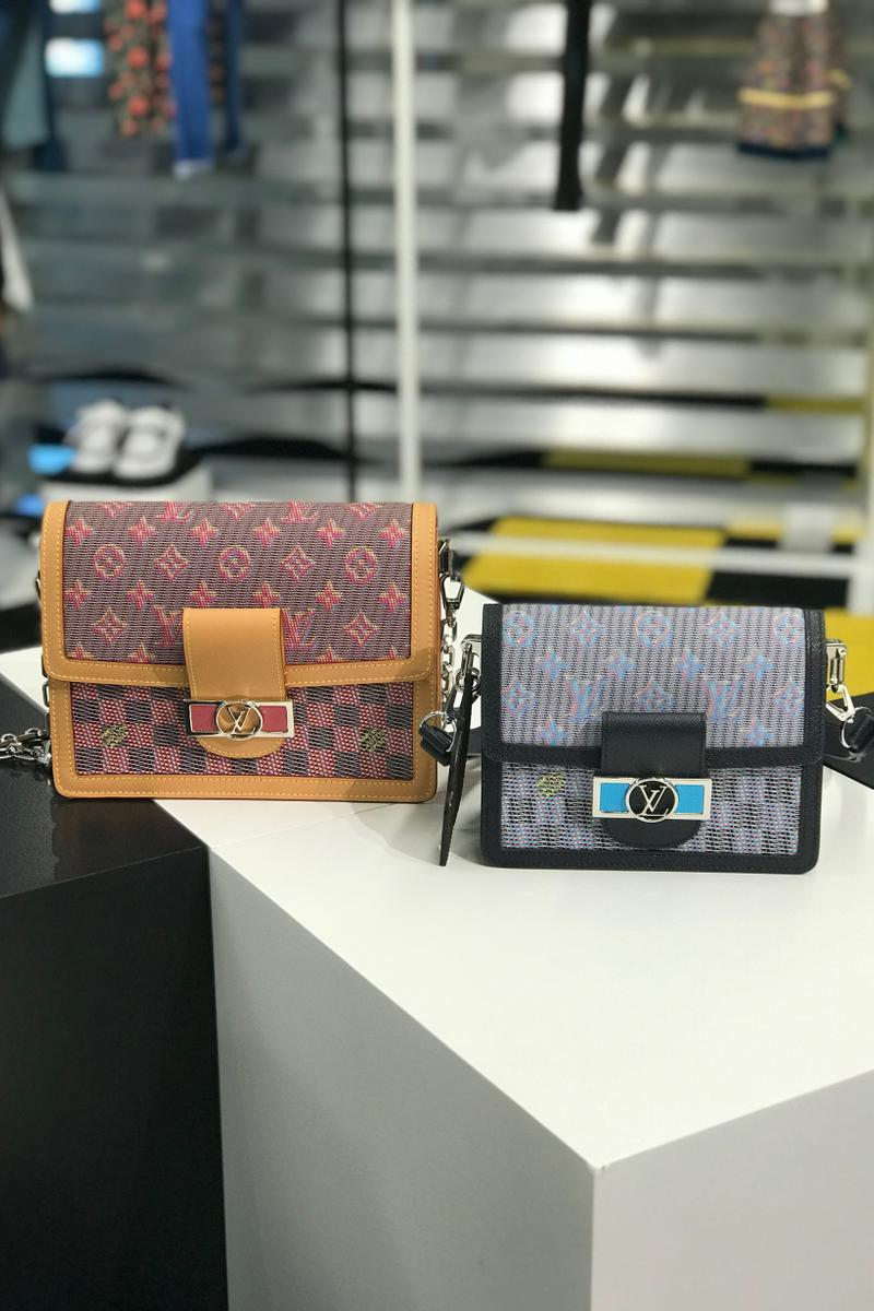 Louis Vuitton Fall Winter 2019 Closer Look Shoulder Bags Black Blue Red Tan