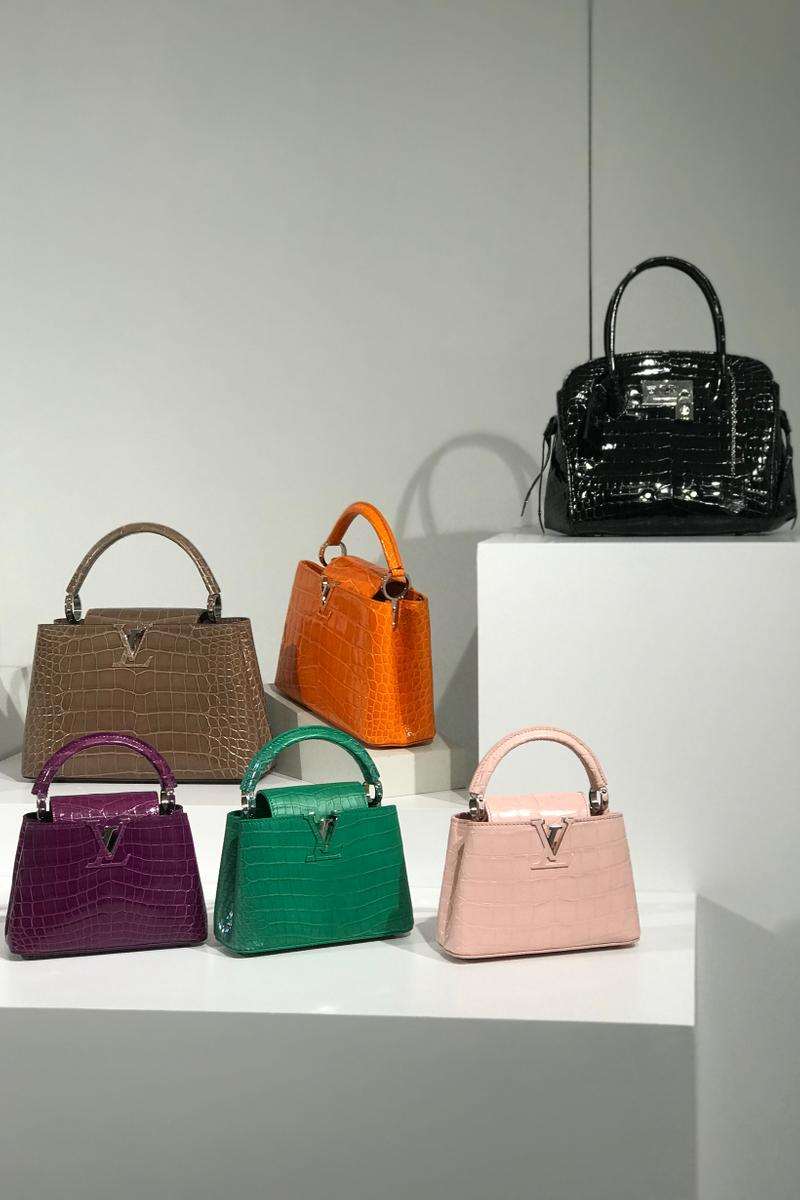 Louis Vuitton Fall Winter 2019 Closer Look Handbags Green Orange Purple Pink Black