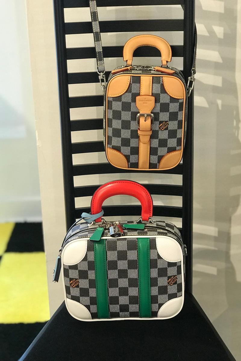 Louis Vuitton Fall Winter 2019 Closer Look Bags Brown Grey White Red Green