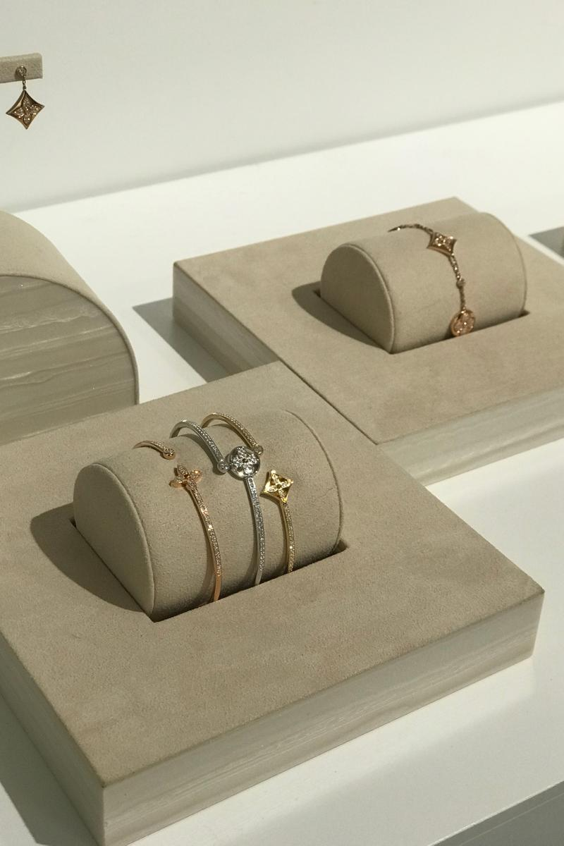 Louis Vuitton Fall Winter 2019 Closer Look Bracelets Gold