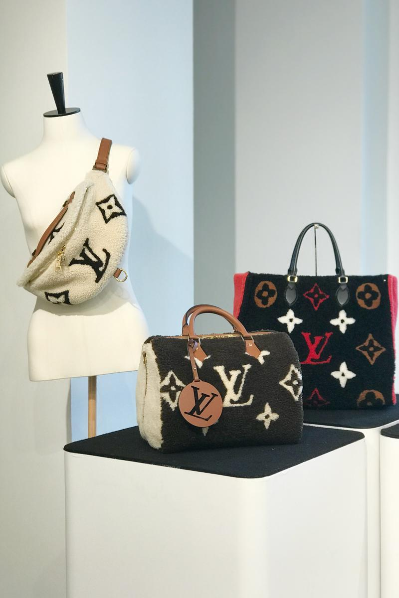 Louis Vuitton Fall Winter 2019 Closer Look Teddy Handbags Cream Brown Red Black