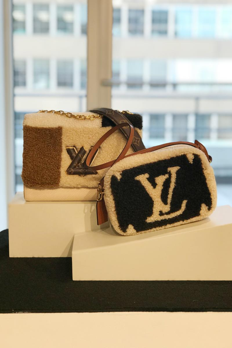 Louis Vuitton Fall Winter 2019 Closer Look Teddy Handbags Cream Brown Black