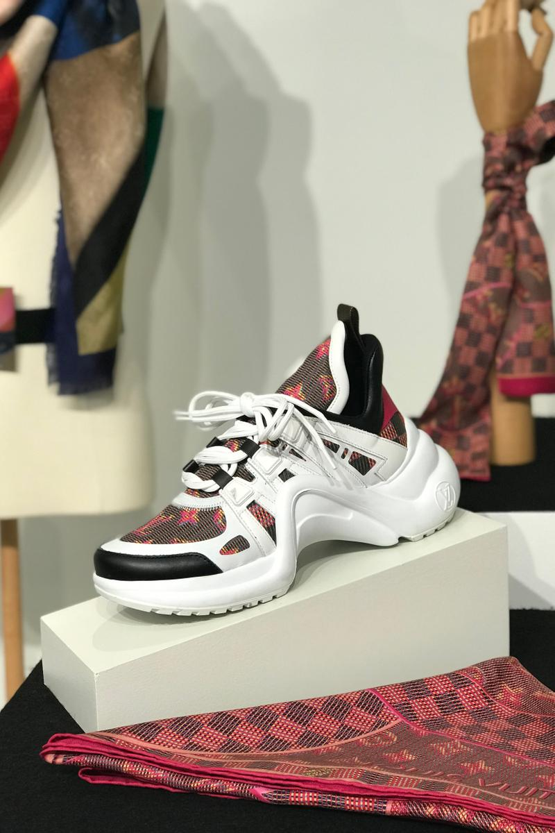 Louis Vuitton Fall Winter 2019 Closer Look Archlight Sneaker White Brown