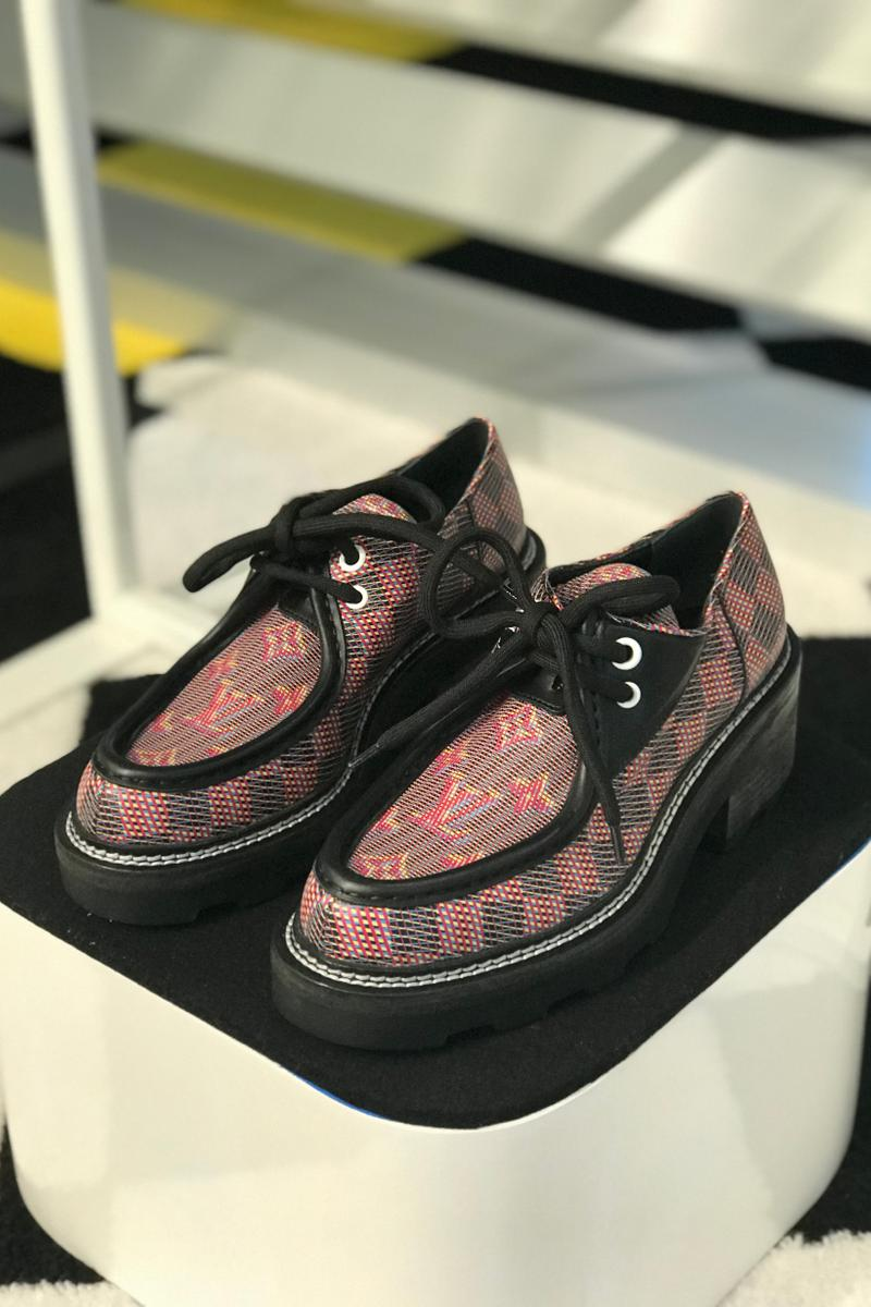 Louis Vuitton Fall Winter 2019 Closer Look Loafer Shoe Red Black