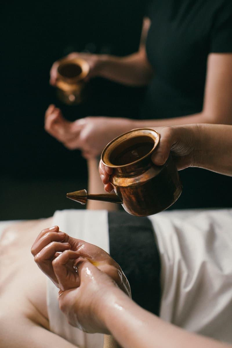 lush cosmetics spa karma treatment review bath bomb skincare self care massage oil