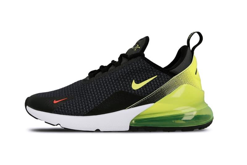 "Nike Air Max 97 Air Max 270 ""Volt"" Pack Sneaker Shoe Neon Green Black White Design Trend"