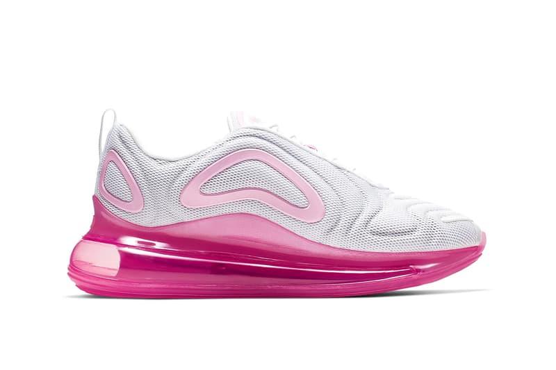 Nike Air Max 720 White Laser Fuchsia