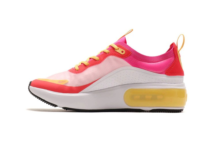 finest selection 72970 e404e Nike s Air Max Dia SE Is Color-Blocked in Bright Pink   Yellow Tones