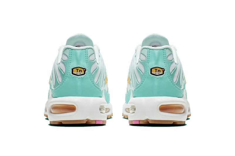 "Nike Air Max Plus ""Easter"" Spring/Summer Release White Blue Turquoise Gold"
