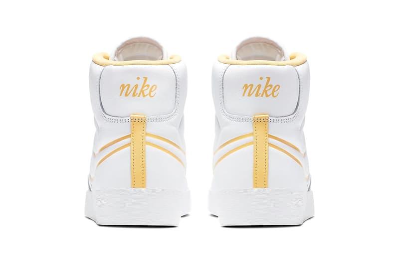 Nike Blazer Mid White Topaz Gold