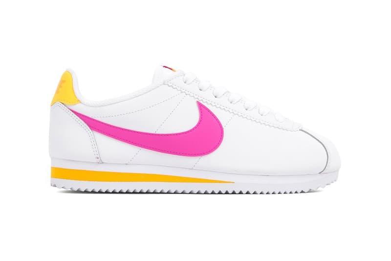 best service 82898 e64bd Nike Cortez Laser Fuchsia Pink & Orange Sneakers | HYPEBAE