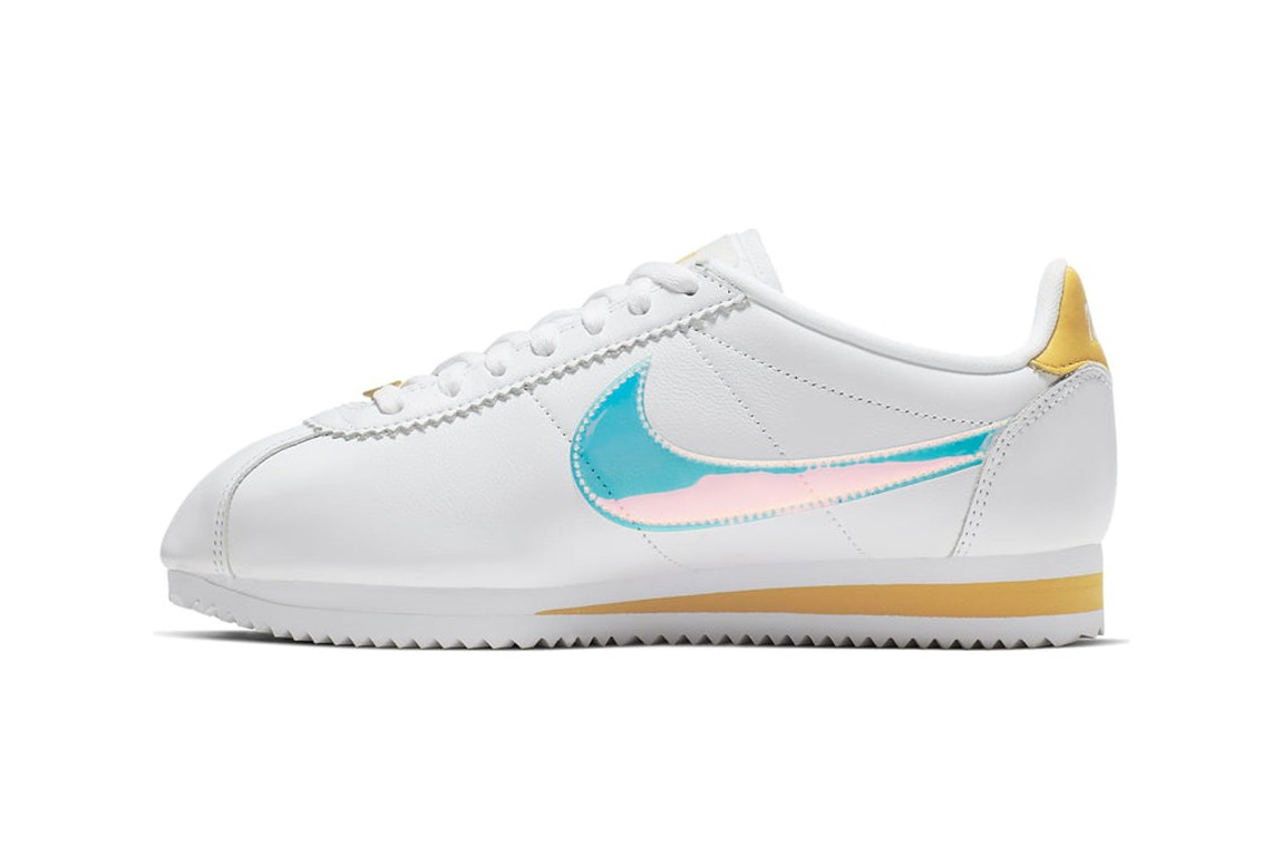 Nike Releases Cortez in White Clear Topaz Gold