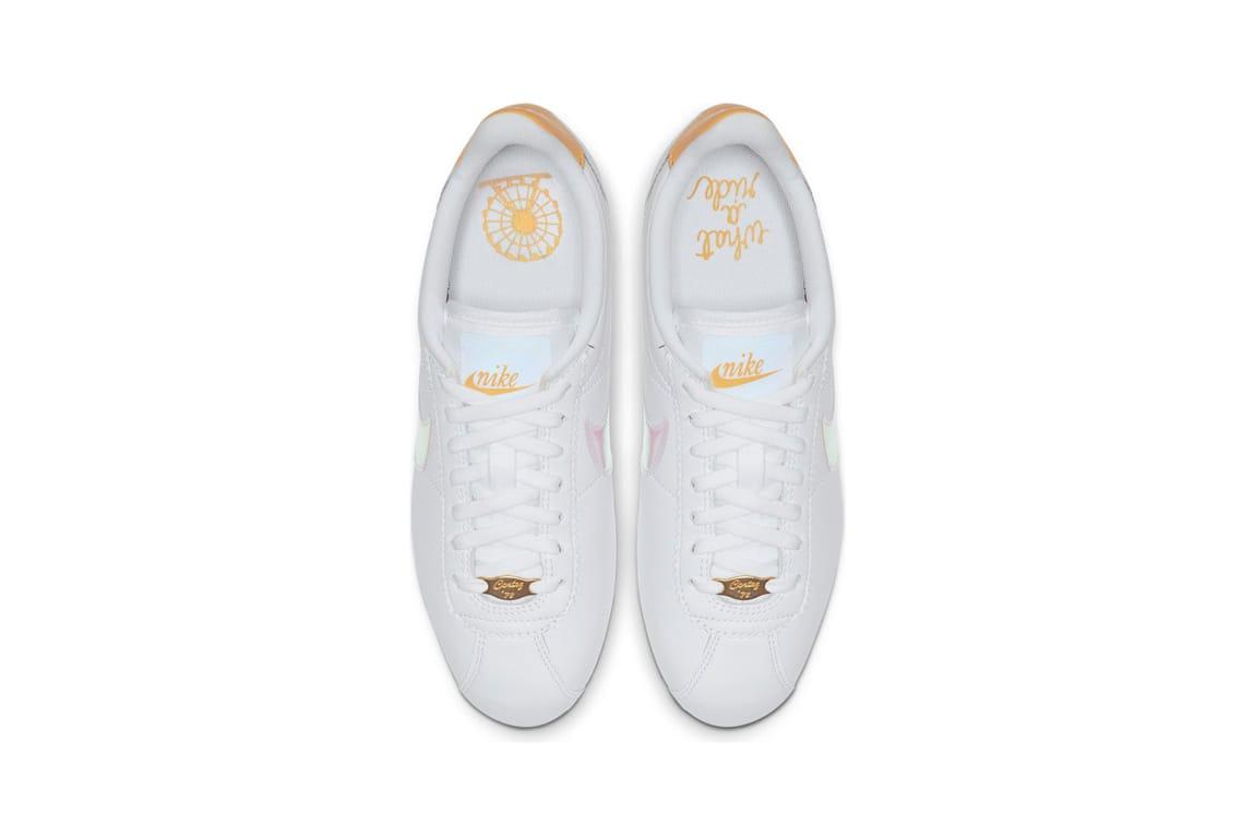 Cortez in White Clear Topaz Gold