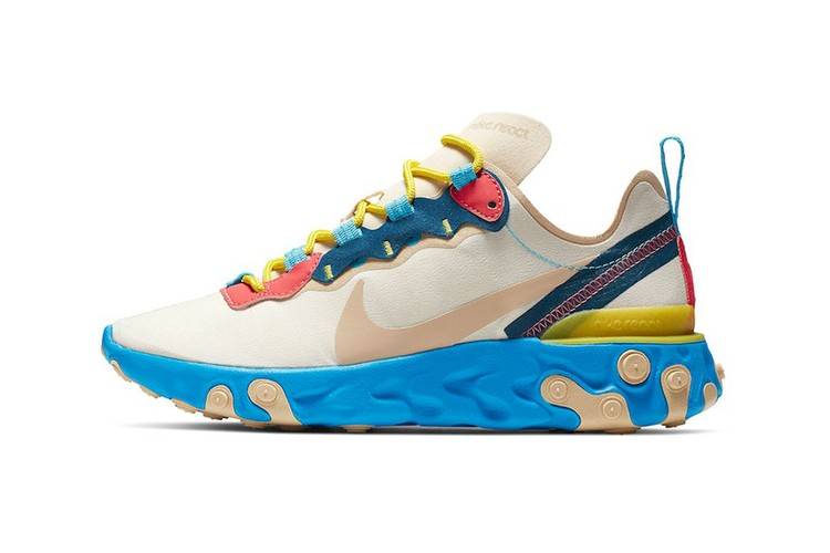 9776a9b9af4 Nike s React Element 55 Is Buzzing in