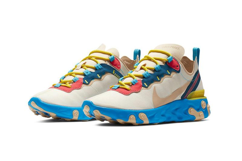 Nike React Element 55 Electric Blue