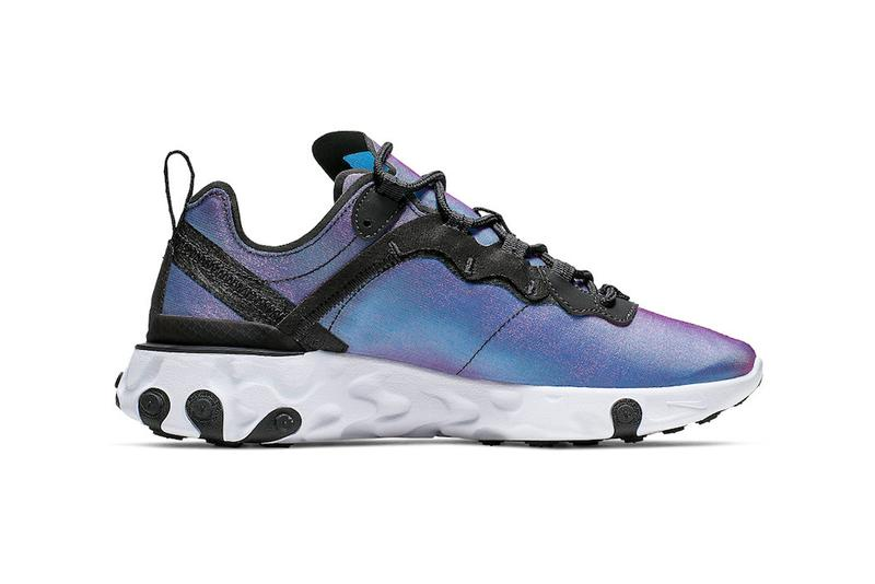 40193eff Nike Releases React Element 55 in Laser Fuchsia | HYPEBAE