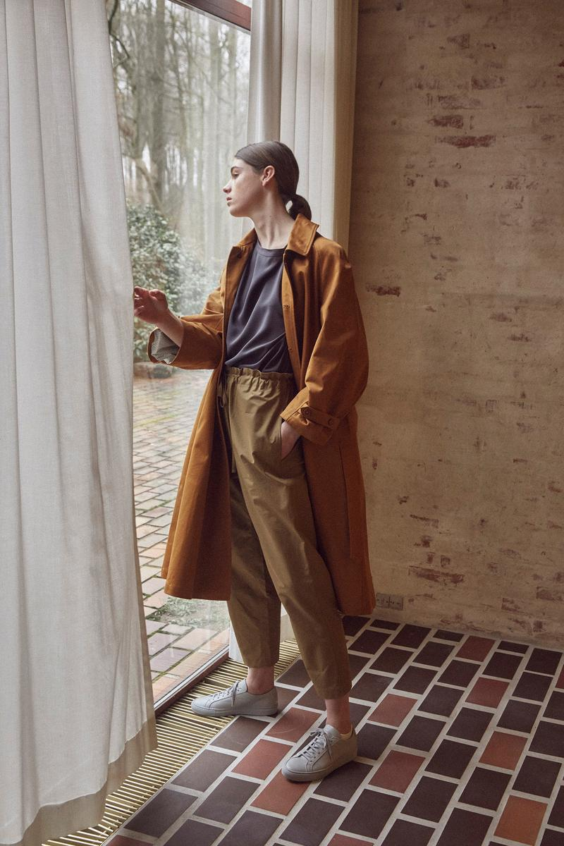 Norse Store Spring Summer 2019 Editorial Jacket Pants Brown Top Grey
