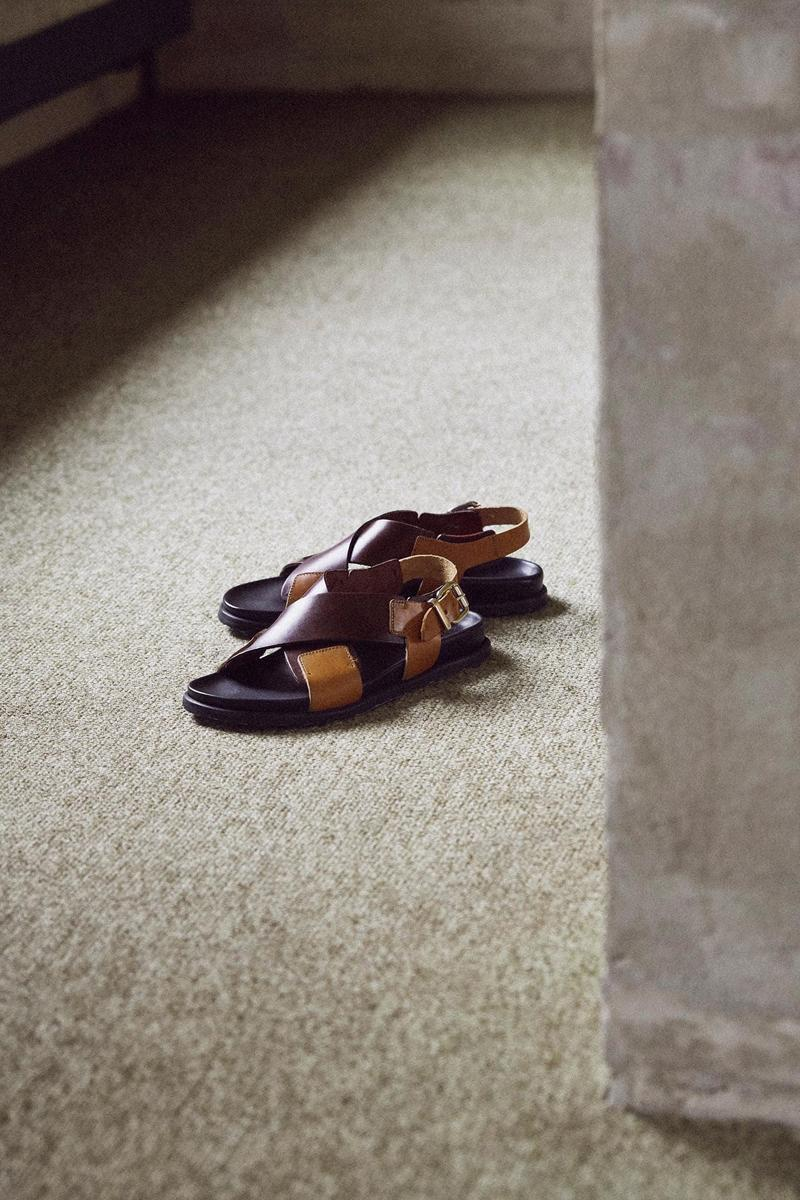 Norse Store Spring Summer 2019 Editorial Sandals Brown