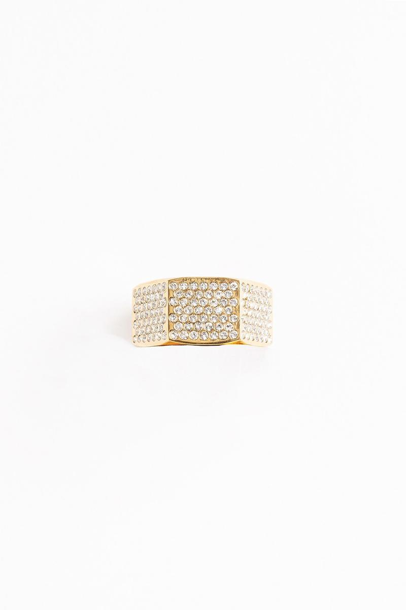 Off White Jewelry Collection Ring Gold Silver